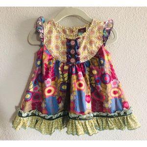 Matilda Jane Character Counts Detailed Dress 12 mo